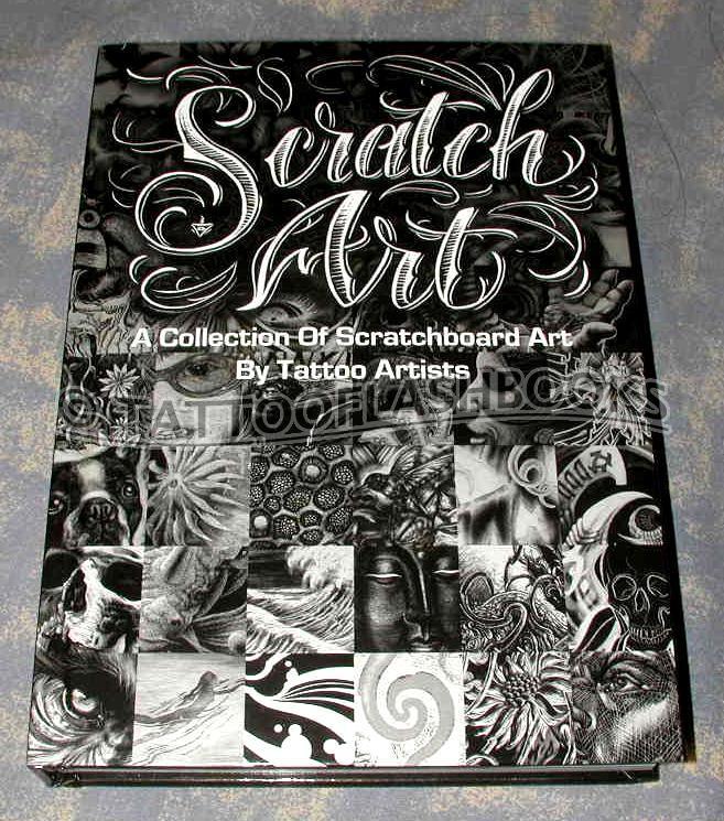 Scratch art by tattoo artists #2