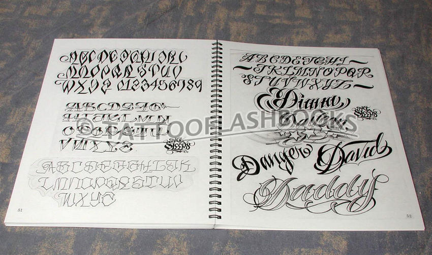 tattooflashbooks.com - Big Sleeps - Letters to Live By